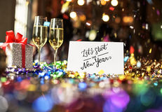 Christmas Cheers Celebration Party Xmas Concept. Christmas Cheers Wine Celebration Concept Royalty Free Stock Photos