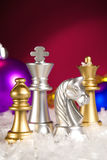 Christmas chess Royalty Free Stock Photography