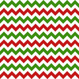 Christmas Chevron Seamless Pattern Stock Photo