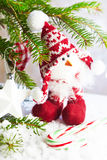 Christmas chick toy Royalty Free Stock Images
