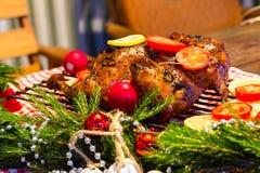 Christmas chicken Stock Photos