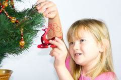 Christmas child. Royalty Free Stock Photography