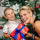 Christmas - child Royalty Free Stock Images