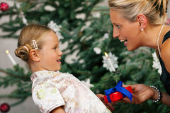 Christmas - child Royalty Free Stock Photography