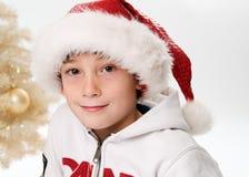 Christmas child Stock Photos