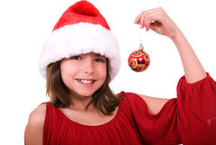 Christmas child. Royalty Free Stock Photos