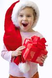 Christmas child Stock Photos