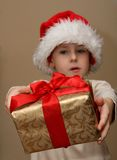 Christmas child Stock Image