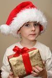 Christmas Child Stock Photography