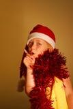 Christmas child stock photography