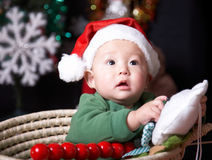 Christmas child Stock Images