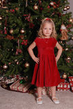 Christmas child. Royalty Free Stock Images
