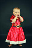 Christmas child Royalty Free Stock Images