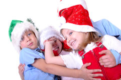 Christmas children Stock Photo