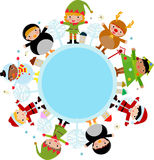 Christmas children Royalty Free Stock Photos