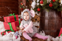 Christmas children royalty free stock image