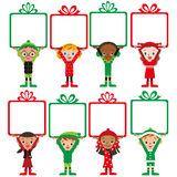 Christmas children present Stock Image