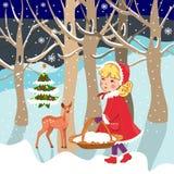 Christmas - children Stock Image