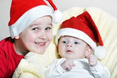 Christmas childs Royalty Free Stock Photography