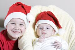 Christmas childs Stock Photo