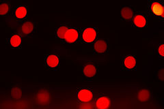 Christmas or Chinese new year  red bokeh Royalty Free Stock Images