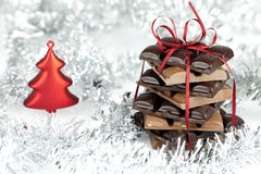 Christmas chocolate Royalty Free Stock Photos