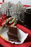 Christmas chocolate and coffee Royalty Free Stock Photography