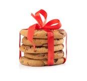 Christmas chocolate cookies Stock Photo