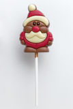 Christmas chocolate lollipop Royalty Free Stock Photography