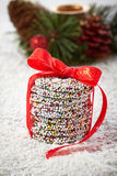 Christmas chocolate Sprinkle Royalty Free Stock Photos