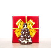 Christmas chocolate tree Stock Photography