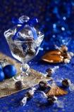 Christmas chocolate truffles Royalty Free Stock Photos