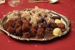 Christmas chocolates Royalty Free Stock Photo