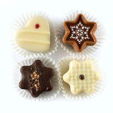 Christmas chocolates Stock Photo