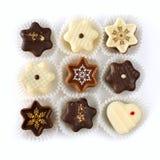Christmas chocolates Royalty Free Stock Photography