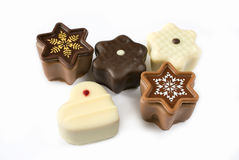 Christmas chocolates Royalty Free Stock Images