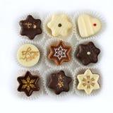 Christmas chocolates Royalty Free Stock Photos