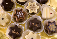 Christmas chocolates Stock Photography