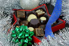 Christmas Chocolates Stock Photos