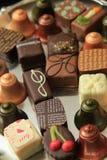 Christmas Chocolates Stock Image