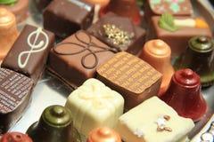 Christmas Chocolates Stock Photos