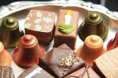 Christmas Chocolates Royalty Free Stock Image
