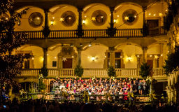 Christmas Choir Stock Images