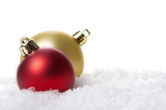 Christmas, christmas baubles Stock Images