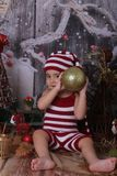 Christmas, Christmas Decoration, Girl, Headgear royalty free stock image