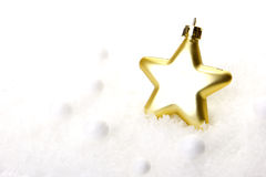 Christmas, christmas decoration gold Stock Photography