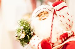 Christmas and christmas decorations of Santa Claus Stock Photography