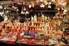 Christmas, Christmas fair, gifts, new year Stock Image