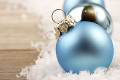 Christmas, christmas ornament blue Royalty Free Stock Photos