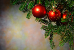 Christmas with the Christmas tree Royalty Free Stock Image
